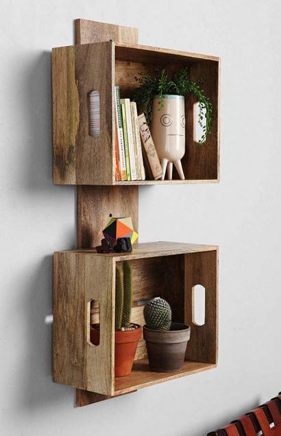 diy crate shelving system