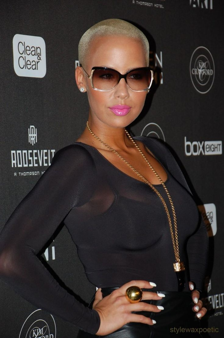 Amber Rose ...... In September 2009, Rose announced plans to launch her own line of eye wear.
