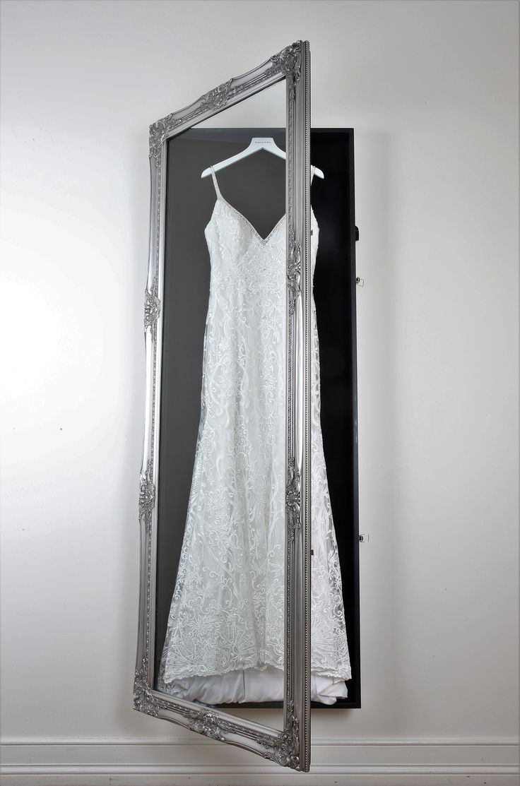 Dress In A Box Wedding Dress Frames The Classic In