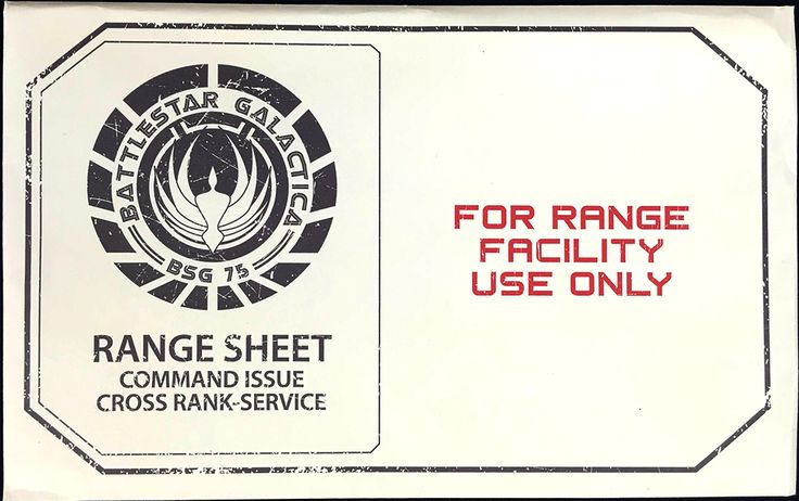 Battlestar Galactice Range Sheet Posters Inside June's Loot Crate: Cyber Edition