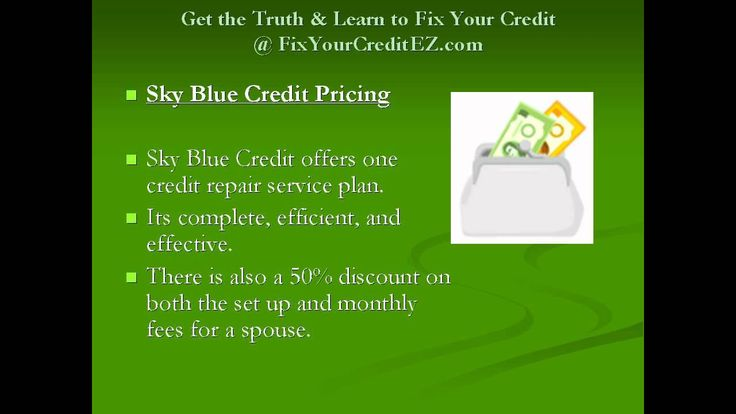 Is Sky Blue Credit Repair The Best Credit Score Repair Company?.   Read the rest of this entry » http://durac.org/is-sky-blue-credit-repair-the-best-credit-score-repair-company/ #CreditFinance, #CreditRepair, #CreditRepairCompany, #HowToRebuildCredit, #SkyBlueCredit, #SkyBlueCreditReview #CreditScoreVideos