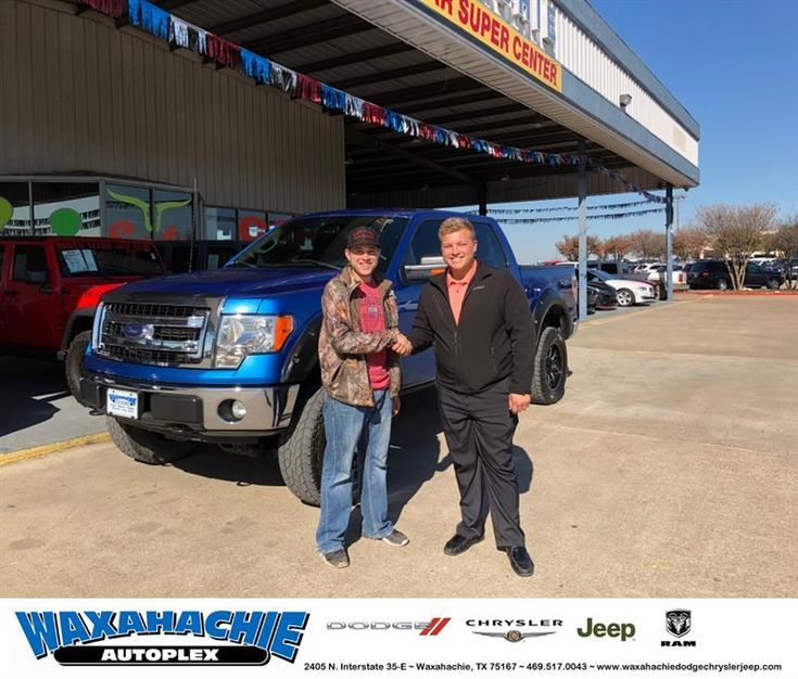 Congratulations Nathan on your #Ford #F-150 from Clayton Cochran at Waxahachie Dodge Chrysler Jeep!  https://deliverymaxx.com/DealerReviews.aspx?DealerCode=F068  #WaxahachieDodgeChryslerJeep