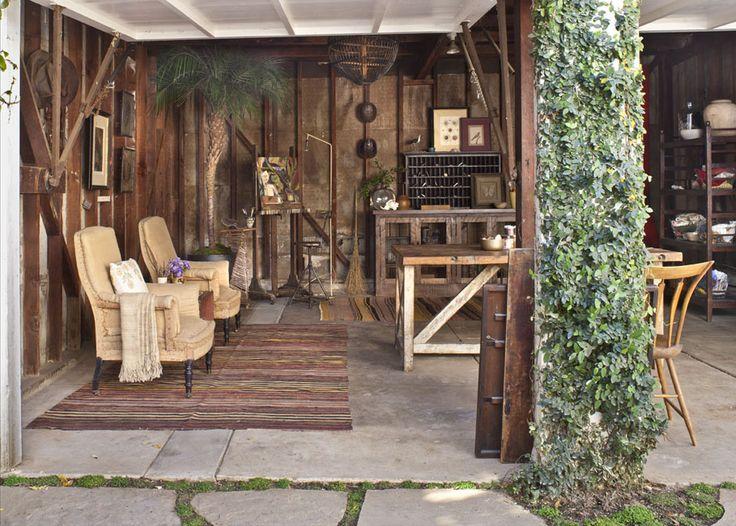 Carolyn Murphyu0027s Painting Studiou2014in The Garage   Gardenista