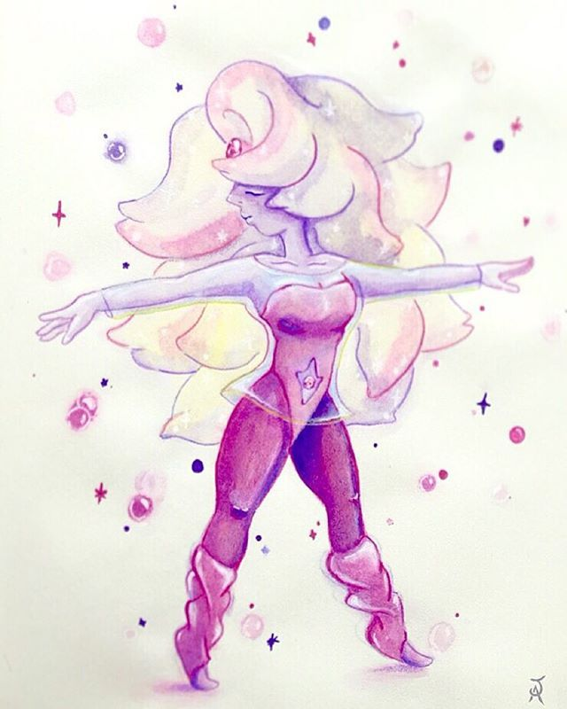 Made rainbow quartz from steven univers  If you want to see more you can follow me on instagram j.artwor   #stevenuniverse #rainbowquartz #steven #perl #rose #fusion #love #fanart #instagram