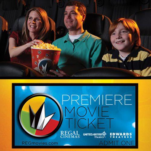 Regal Entertainment Group Premiere Movie Tickets 10-pack