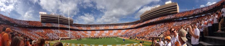 The game didn't end like we'd hoped it would but I'm always proud to be a Tennessee Vol!! #CheckerNeyland   10/04/2014 Tennessee v. Florida