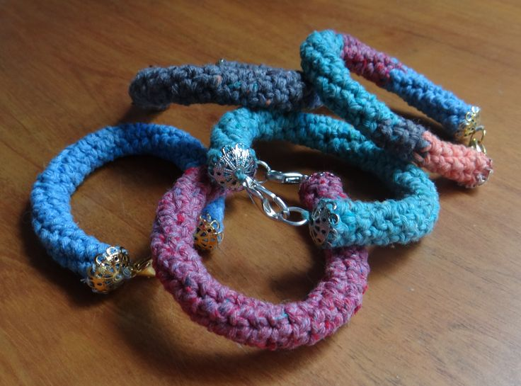 Pulseras en Crochet Aija Aija´s Bracelets