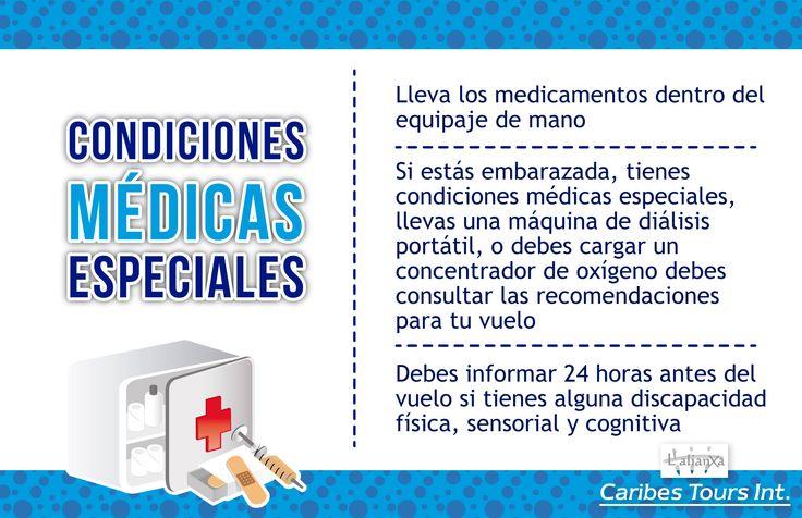 Condiciones médicas especiales