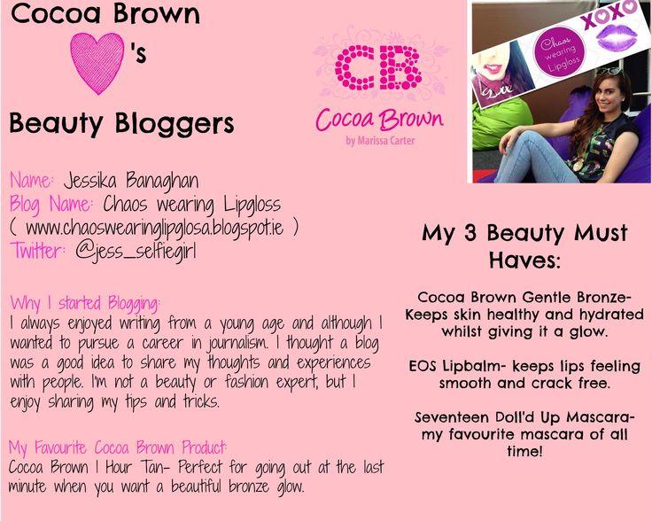 Jess - chaoswearinglipgloss.blogspot.ie