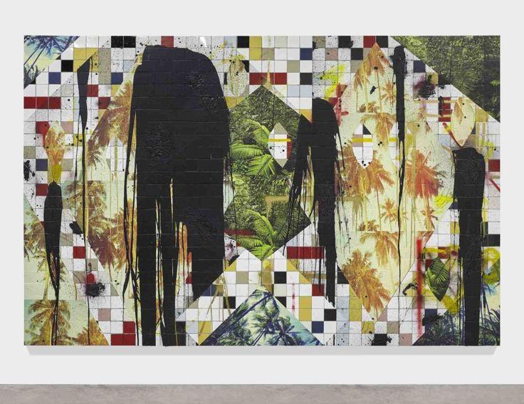 Rashid Johnson Untitled Escape Collage 2016 © The artist Courtesy Hauser &…