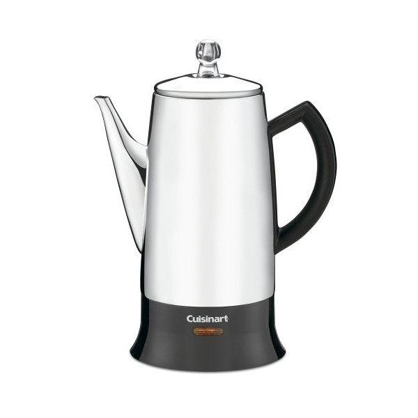 クイジナート Cuisinart PRC-12 コーヒー濾し器 Classic 12-Cup Stainless-Steel パーコレーター