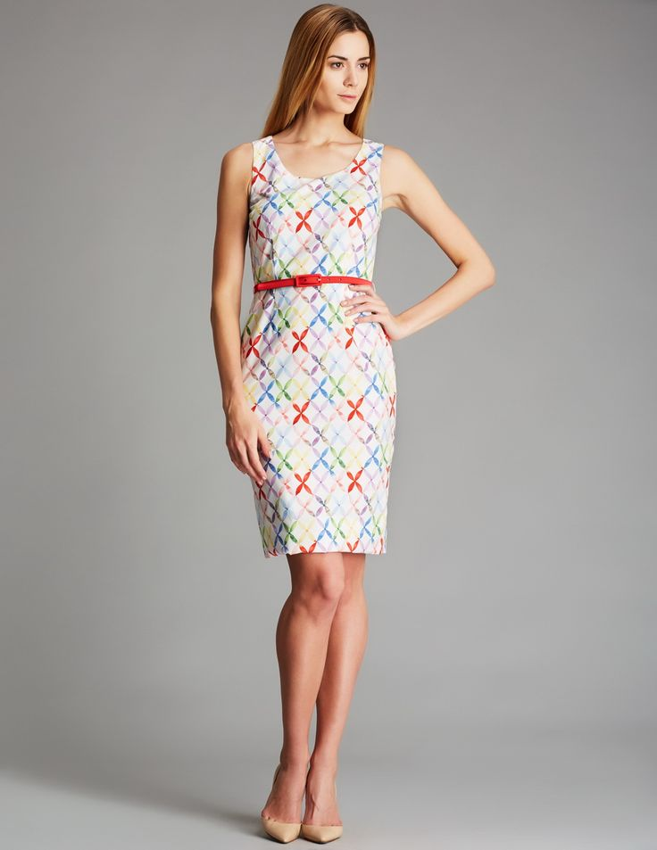 Geometric-Print-Dresses-For-Spring-Summer-