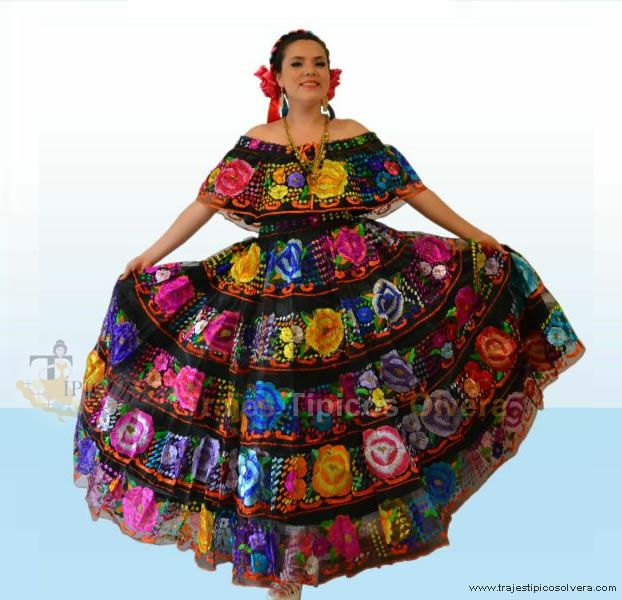 vestidos mexicanos tipicos - Google Search