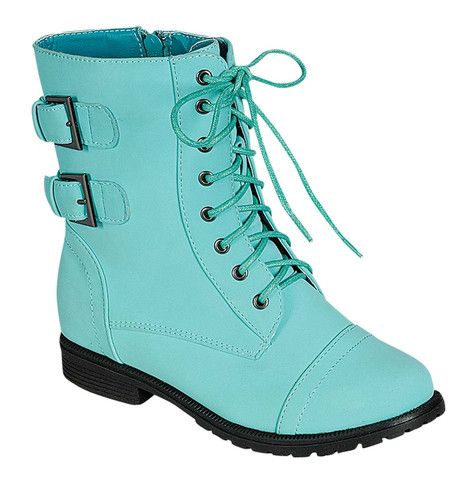 QQ Girl Cozy Ankle Boot in Mint