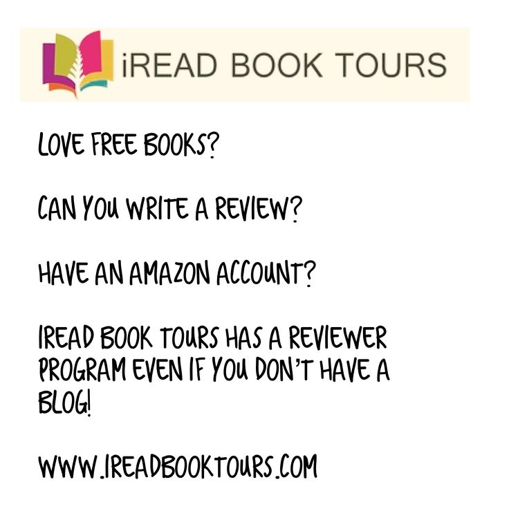 Love free books? Can you write a review? Have an Amazon account?  iRead Book Tours has a reviewer program eve if you don't have a blog!  www.ireadbooktours.com  #ireadbooktours #booktour #bookblogger​ ​#bookreview #bookstagram #bookshelf #bookworm#book #lovetoread #booksofinstagram #booklover​ #booknerd​ ​#bibliophile #bookish #reader​​ #book​​ #bookalicious​ #amazon