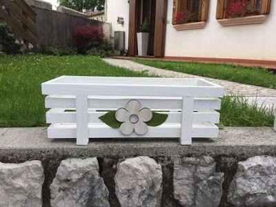 Le creazioni di Mery: Porta piante in legno fatto a mano