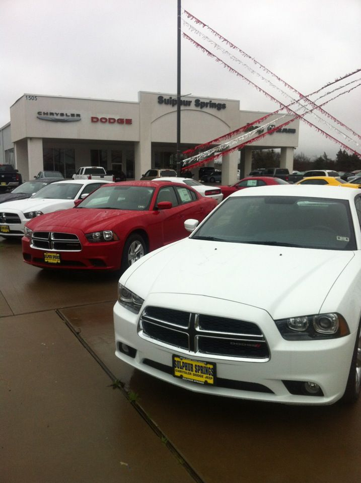 Our goal is to make your car buying experience the best possible. Sulphur Springs Dodge's virtual dealership offers a wide variety of new and used cars, Chrysler, Dodge, Jeep, RAM incentives, service specials, and Chrysler, Dodge, Jeep, RAM parts savings. Conveniently located in Sulphur Springs, TX we also serve Greenville, TX and Tyler, TX.