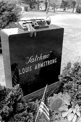 Louis Armstrong. Making money ain't nothing exciting to me - you might be able to buy a little better booze than some wino on the corner. But you get sick just like the next cat, and when you die you're just as graveyard dead as he is.