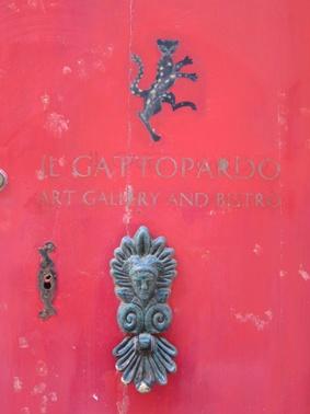 Red door in Mdina