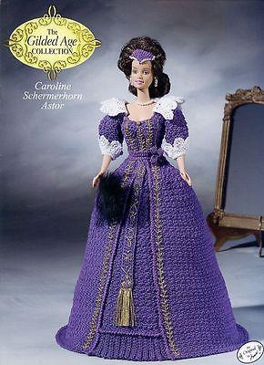 Caroline Schermerhorn Astor Outfit for Barbie Annie's Gilded Age Crochet Pattern