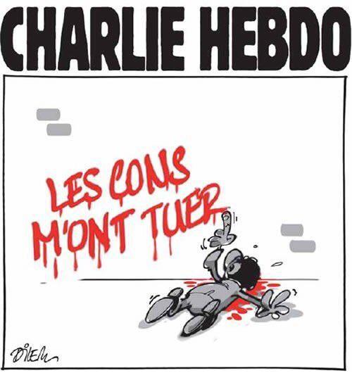 Très bel hommage du dessinateur algérien Ali Dilem #charliehebdo via @DZnews_App
