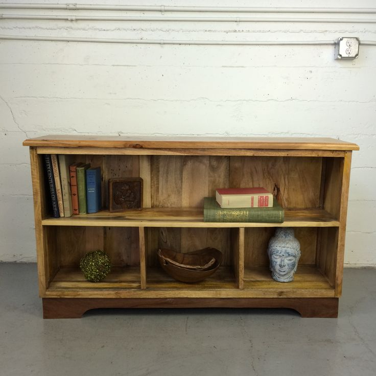 Darwin Utility Shelves, made from salvaged wood found in Indonesia.