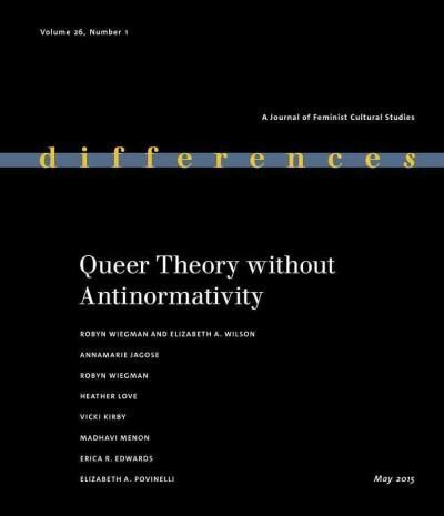 Differences: Queer Theory Without Antinormativity