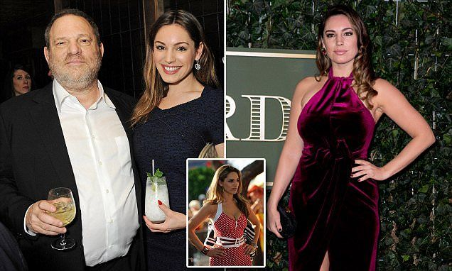 Harvey Weinstein 'repulsed' Kelly Brook after becoming 'infatuated'