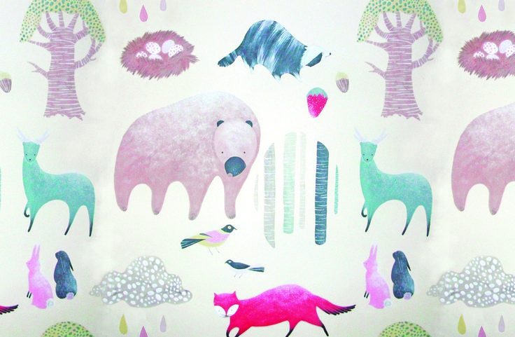 Kinderhaus Bedlinen by RMIT University Textile Design student, Hannah Hughes.