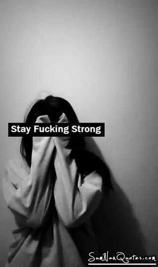 Stay Strong. , , stay strong quote girl sad depressed  , Quotes on Pictures, Sumnan Quotes
