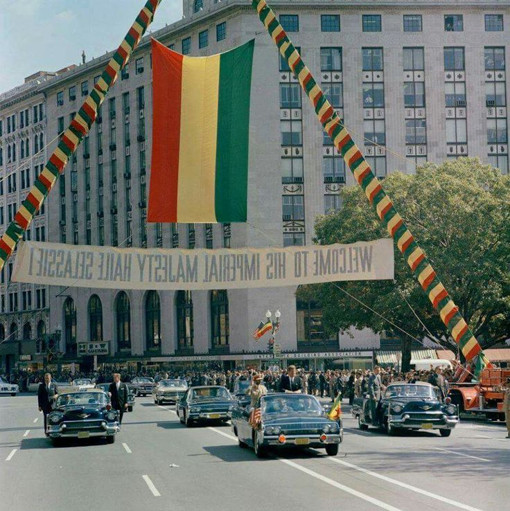 Happy  birthday  to  the Mighty King,   Thank you for making us all proud!  In the year 1962, just a year before the assassination of President John F Kennedy has occurred, Emperor H/Selassie has paid his second work related visit to America with a warm welcome as it is seen in the image.   Thousands of onlookers crowded the side of the street to have the glimpse of the mighty Ethiopian king,  who was passing by a motorcade along with President Kennedy.   In the year 1954, in the era of…