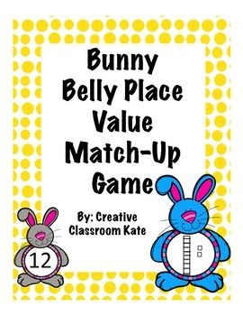 Are your students excited about Easter? Looking for a game to help reinforce place value? Then, this Easter themed way to practice place value in your classroom is perfect! The game meets first grade Common Core math standards and the students have fun while reinforcing this important skill.Students work together and take turns counting the base ten blocks and matching them to the corresponding number.
