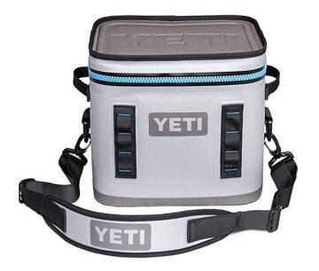 YETI® took their exceptional Hopper Cooler and made it even better in this portable cube. They added a wide mouth for easy access without sacrificing durability. Furthermore, they gave it a compact cube shape for the ultimate in portability and packability, with a hard top that doubles as a useable work surface. And just like all YETI Coolers, it's superbly engineered to keep ice for days. The YETI Hopper Flip is a personal, portable, anything but soft-sided cooler. Easily haul ...