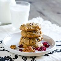 Soft cookie recipe from persimmon puree.