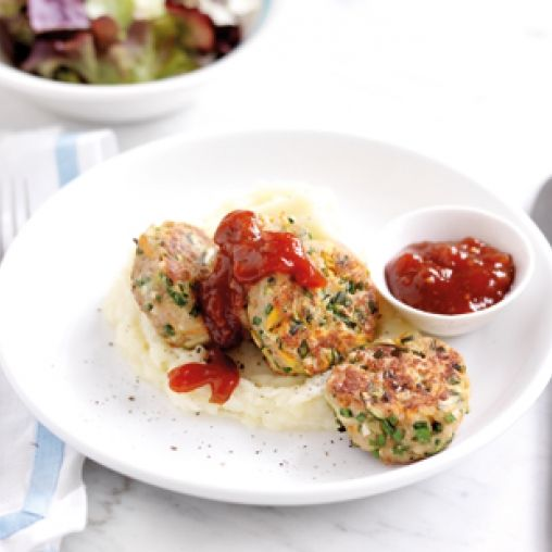 Herby chicken rissoles | Healthy Food Guide