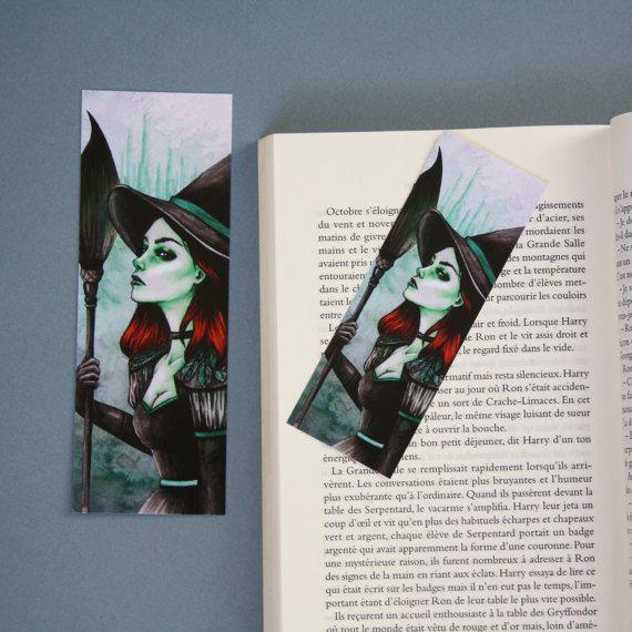 Hey, j'ai trouvé ce super article sur Etsy, chez https://www.etsy.com/fr/listing/500837232/bookmark-art-drawing-print-la-mechante