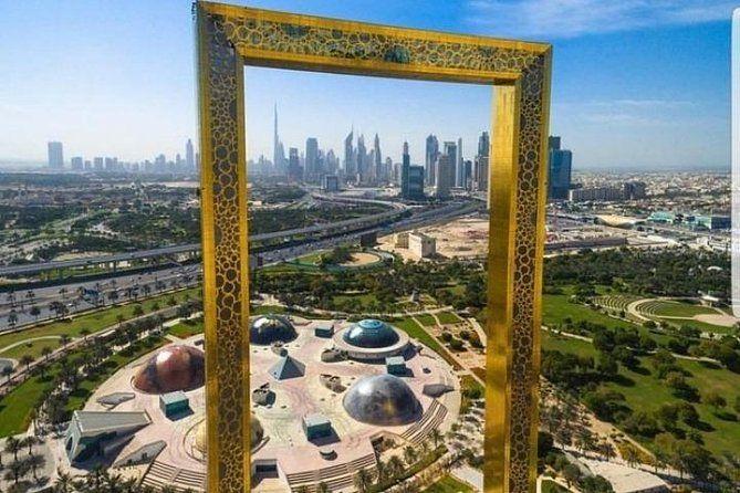 Full Day Dubai City Tour And Dubai Frame With Guide Dubai City Photography Backdrop Stand City