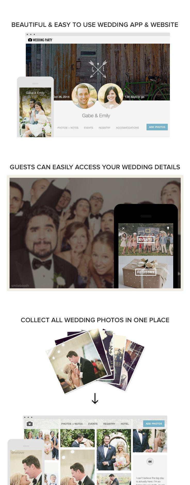 72 best wedding party images on pinterest marriage parties and create a custom free wedding app website to share everything about your wedding with junglespirit Choice Image