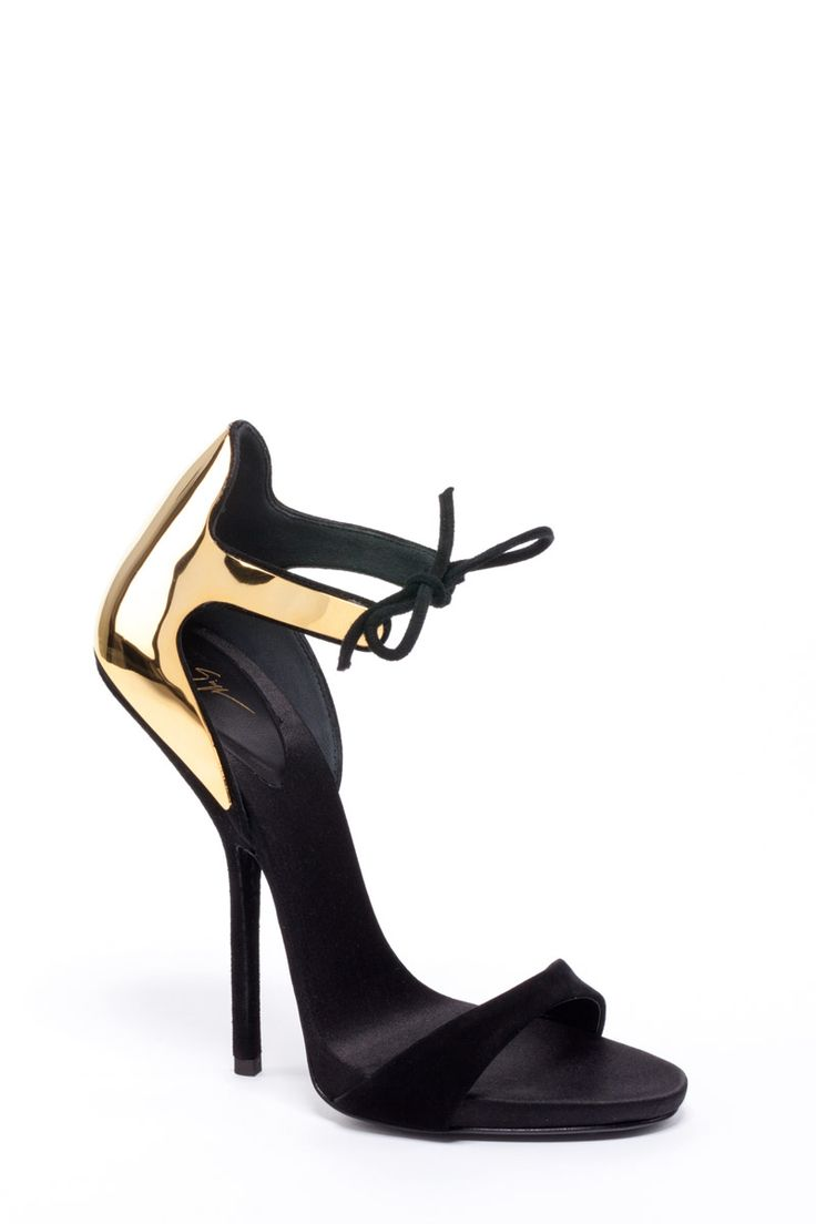 Giuseppe Zanotti SS2013 My husband's favorite type of shoes on me; the  strap around the · Stunning WomenBlack ...