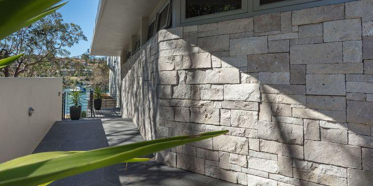 Cabana Wall Cladding #naturallookwallcludding #naturalstone #ancientlook #fireplace #facade #retainingwall #featurewalls #wallcladding