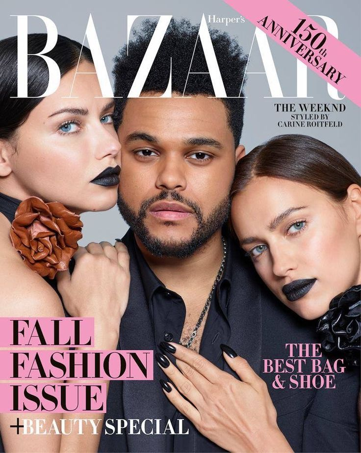Harper Bazaar Cover Adriana Lima Irina Shayk The Weekend 2017