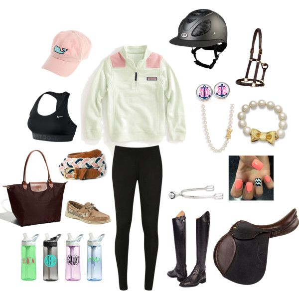 Lazy day at the barn. - Polyvore Really? Who wears this to hang out at the barn?