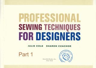 Profesional sewing techniques for designers p1