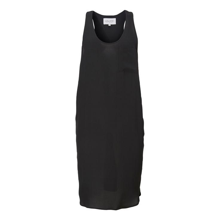Paynee tank dress - black