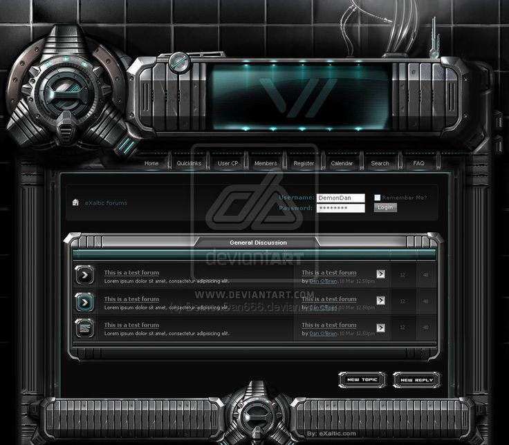 Cell 2 by DemonDan666 Web Interface Showcase of Inspiration