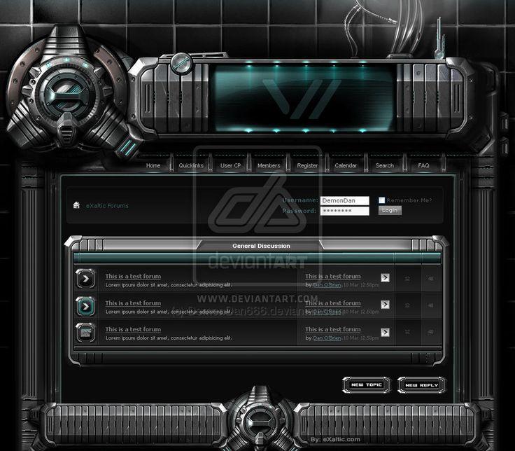 Cell 2 by DemonDan666 Web Interface Showcase of Inspiration