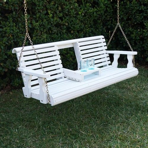Porchgate Amish Heavy Duty 700 Lb Rollback Console Swing