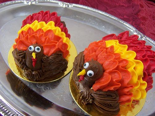buttercream turkeys!