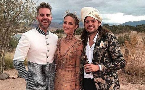 ディアナ・アグロンがウィンストン・マーシャルと結婚❤ ウエディングドレスは「ヴァレンティノ」