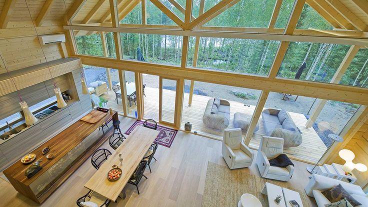 Deze vrijstaande woning is een Finnhouse schuurwoning en is met natuurlijke en duurzame materialen gerealiseerd. De paal en balk schuurwoningen zijn geïnspireerd op de landelijke vakwerk constructie van schuren en …